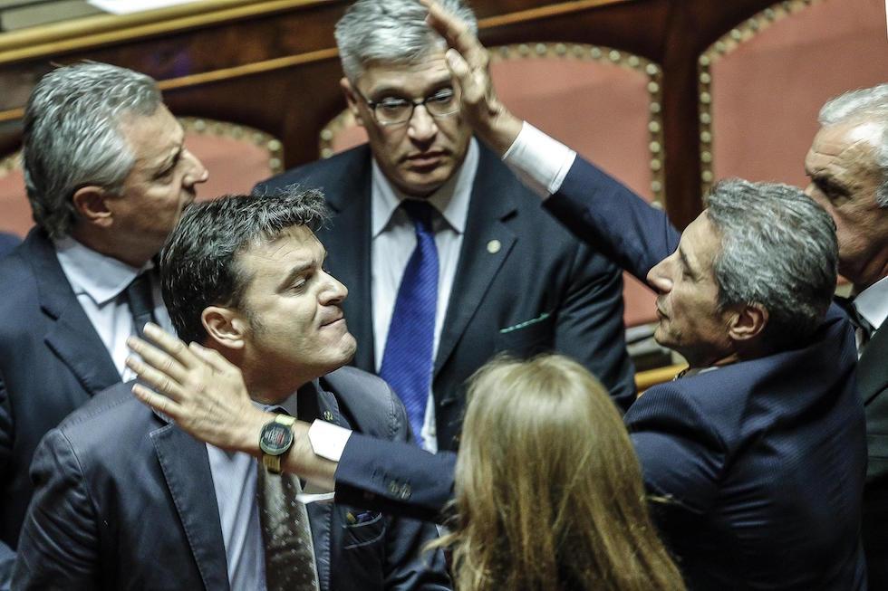 Le foto di oggi al senato il post for Leggi approvate oggi al senato