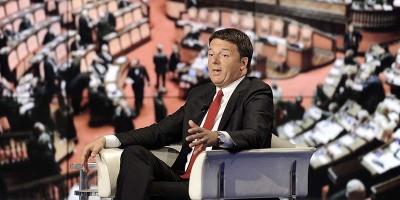 Matteo Renzi ha fatto una leggerissima allusione contro Angelino Alfano