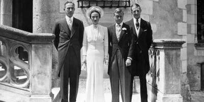 Il matrimonio tra Wallis Simpson e il duca di Windsor, 80 anni fa