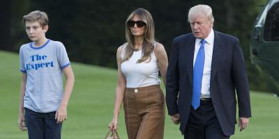 E insomma, Melania Trump ha traslocato alla Casa Bianca