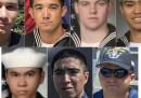 Da dove venivano i soldati americani morti in mare in Giappone