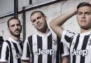 La Juventus ha presentato la maglia per la prossima stagione