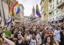 Le foto del Gay Pride a Roma