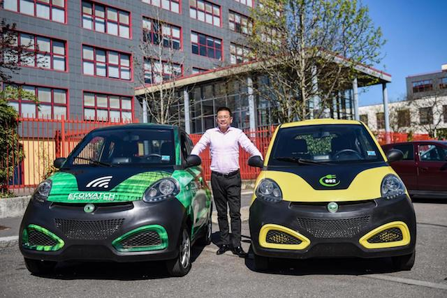 Mr Bao, proprietario del servizio di car sharing Share and Go