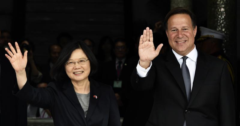 Panama sposta riconoscimento diplomatico da Taiwan a Cina