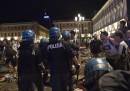 Le foto di piazza San Carlo a Torino dopo il falso allarme durante Juventus-Real Madrid