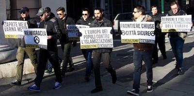 L'associazione giovanile che vuole bloccare i migranti