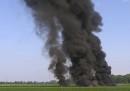Un aereo militare dei Marines è precipitato in un campo nel Mississippi: sono morte almeno sedici persone