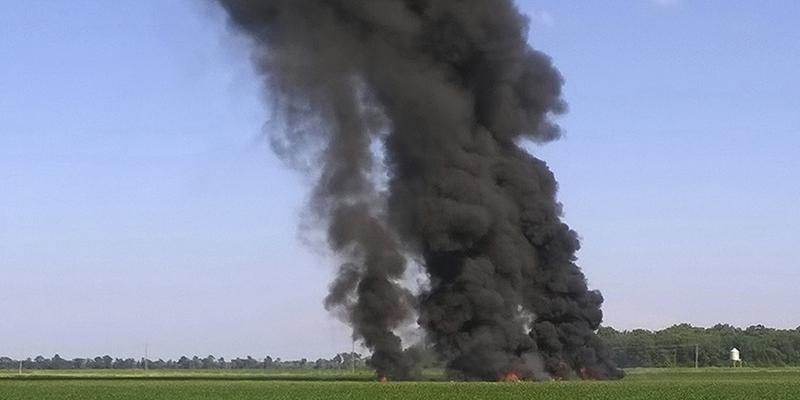 Un aereo militare statunitense è precipitato in Mississippi, almeno 16 morti