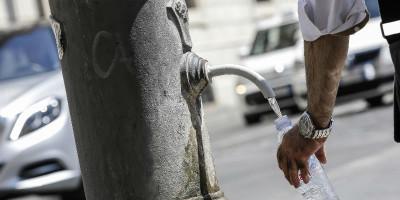 Forse a Roma non sarà razionata l'acqua