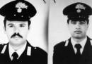 Sono stati eseguiti due mandati di arresto contro i presunti mandanti dell'omicidio dei carabinieri Fava e Garofalo in Calabria nel 1994