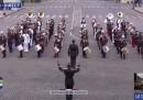 Il video di una banda militare francese che suona un medley dei Daft Punk