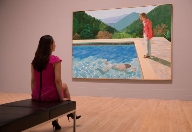 BRITAIN-ART-EXHIBITION-HOCKNEY
