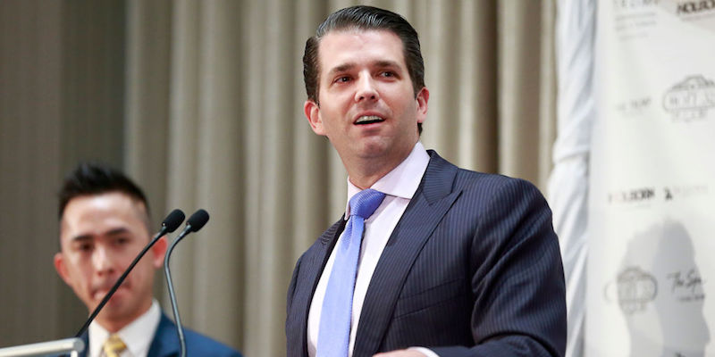 Donald Jr. And Eric Trump Attend Opening Of Trump Tower And Hotel In Vancouver