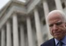 John McCain ha un tumore al cervello