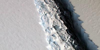 Quel gigantesco iceberg si è staccato dall'Antartide