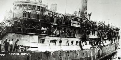 """L'incredibile storia della nave """"Exodus"""", salpata per la Palestina 70 anni fa"""