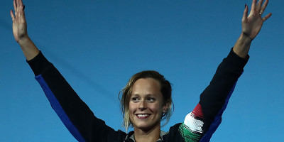Federica Pellegrini ha vinto l'oro nei 200 stile libero ai Mondiali di nuoto