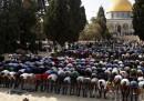 Anche oggi gli uomini palestinesi con meno di 50 anni non potranno pregare alla Spianata delle moschee