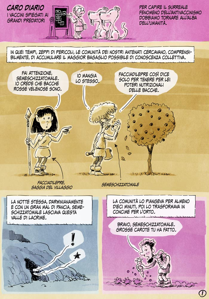 i vaccini spiegati ai grandi predatori1