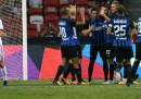 L'Inter ha vinto 2-0 contro il Bayern Monaco