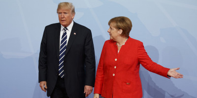 Foto di rito ai politici del G20