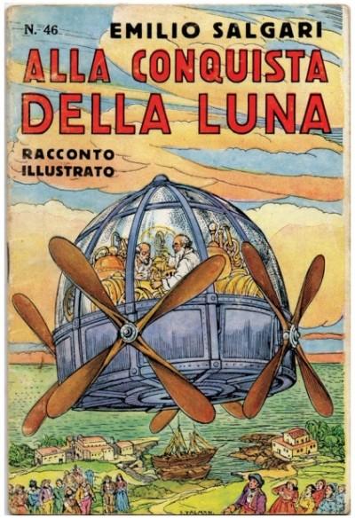 Edizione originale di Alla conquista della Luna