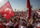 Contro Erdoğan, per 450 chilometri