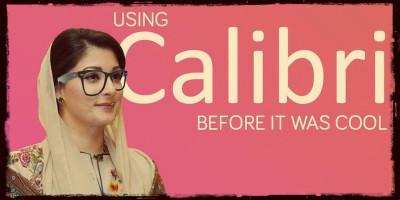La figlia del primo ministro pakistano è in un guaio per colpa di un font di Windows