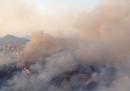 Gli incendi intorno a Messina