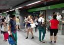 La metropolitana verde di Milano (M2) è bloccata tra le stazioni di Lambrate e Centrale