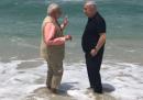 La foto di Netanyahu e Modi al mare insieme