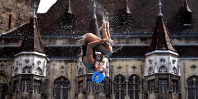 Foto dai Mondiali di nuoto