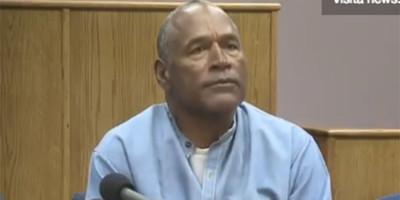 Da ottobre O.J. Simpson sarà rilasciato in libertà condizionata
