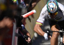 Peter Sagan è stato squalificato dal Tour de France