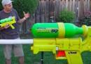 Probabilmente la pistola ad acqua più grande del mondo