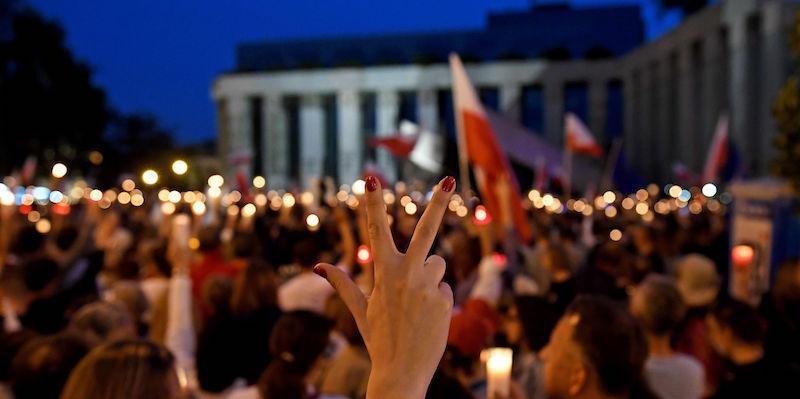 POLAND-POLITICS-JUSTICE-DEMO