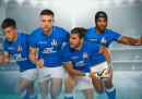 Sono state presentate le nuove maglie della nazionale italiana di rugby