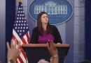 Sarah Sanders è il nuovo portavoce della Casa Bianca