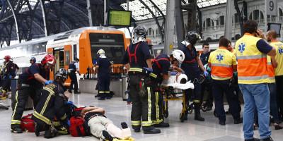 C'è stato un incidente ferroviario a Barcellona
