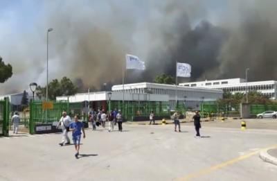 A causa di un incendio vicino a Termoli la circolazione sulla A14 tra Vasto Sud e Poggio Imperiale non è ancora regolare