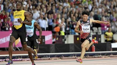 Ai Mondiali di atletica Bolt ha iniziato così così