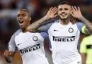 L'Inter ha battuto la Roma in rimonta