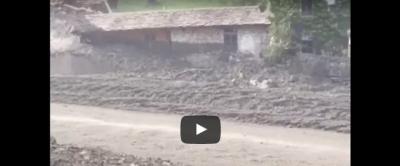 C'è stata una frana in Svizzera, al confine con la Lombardia: 200 persone sono state evacuate