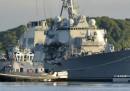 Gli ufficiali e marinai della nave militare americana speronata lo scorso giugno saranno puniti