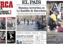 I giornali spagnoli di oggi