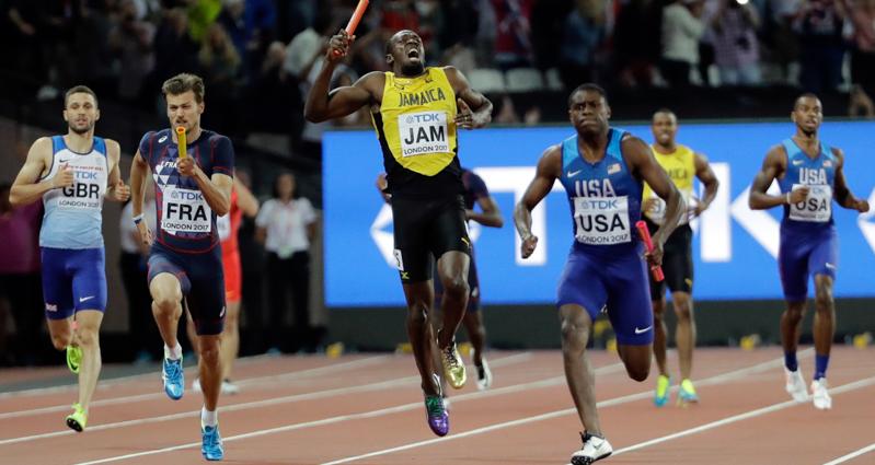 APTOPIX Britain Athletics Worlds