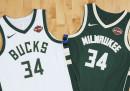 Le maglie delle squadre NBA per la prossima stagione