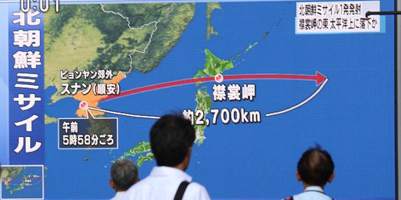 Corea Del Nord minaccia Usa: lancio è stato preludio per Guam