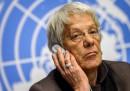 Carla Del Ponte ha annunciato che si dimetterà dalla Commissione ONU sulla Siria